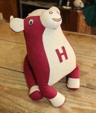 Antique Vintage Harvard University Felt Football Bull Souvenir Ivy League 1950s