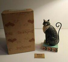 Jim Shore Heartwood Creek #4007498 Black Cat Lucky 2006 Figurine