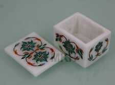 Trinket box vintage inlay jewelry boxes decor mosaic rare hand made Italian work