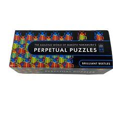 PERPETUAL PUZZLES BRILLIANT BEETLES THE AMAZING WORLD OF MAKOTO NAKAMURA'S