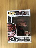 Funko Pop Vinyl Marvel Venom Corrupted Venom Special Edition