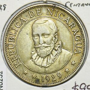 Nicaragua 1929 50 Centavos N0232 combine shipping
