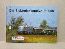 Editions ROCO : Die Elektrolokomotive E 18 08, livre book boek buch, état neuf.