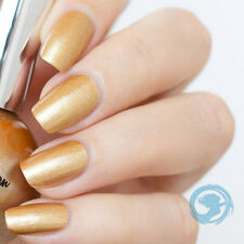 SEA SIREN COSMETICS Golden Sands 5 ml Mini GOLD GLITTER Nail Polish VEGAN
