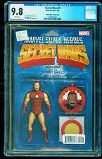 SECRET WARS # 9 Action Figure Variant CGC 9.8 Marvel 2015 Ironman