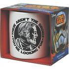 "STAR WARS Ceramic Mug Obi Wan ""These aren't the Droids"" Gift Sleeved Darth Vader"