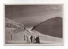 Cartolina MONTE ROSA Salendo alla Punta Gnifetti Parrot Anni 30 N Postcard Diena