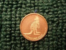 2016 Australia Kangaroo $2 Gold Coin .5 Gram .9999 Pure SEE PHOTO'S