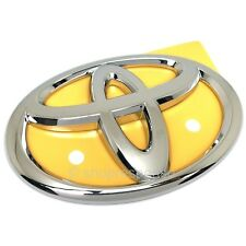 OEM Toyota 07-14 FJ Cruiser Rear T Emblem Badge Chrome 7547142030 Genuine