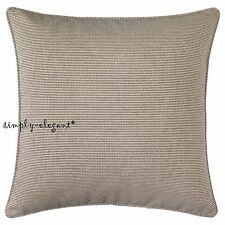 """Ikea Ilse Crawford Limited Collection SINNERLIG Cushion Cover Beige Black 26x26"""""""