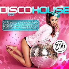 CD Disco House 2016 von Various Artists  2CDs