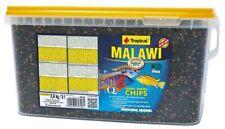 Tropical Cichlid Chips 5 Litre 2.6 Kg Premium Fish Food for Malawi Tanganyika