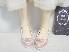 NEW Super Dollfie 1/3 BJD Shoes /Ribbon Heel Pumps(Pink)