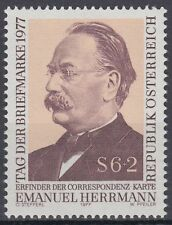 Österreich Austria 1977 ** Mi.1563 Herrmann Tag der Briefmarke Stamps Day