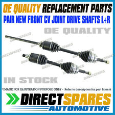 A SET OF TWO CV JOINT DRIVE SHAFTS FOR TOYOTA CAMRY SV21 1991-1992
