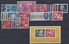 DDR-Jahrgang 1950 ** komplett Mi.-Nr.246-279 Absolut postfrisch! TOP!