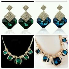 Crystal Bib Oval Costume Necklaces & Pendants