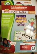 LeapFrog Tag LeapReader Interactive Talking Words Factory Flash Cards Set NEW