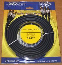 AV Link Component Cables, DV8102 - 9.84 ft, Brand NEW