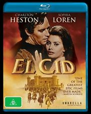 El Cid (Blu-ray, 2013) Brand New Australian Release