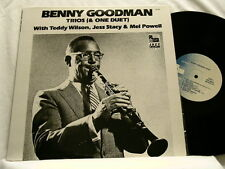 BENNY GOODMAN Trios & Duet Teddy Wilson Jess Stacy Mel Powell LP