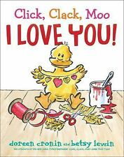 Click, Clack, Moo I Love You! (Hardback or Cased Book)