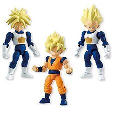 Dragonball Kai 66 action SS Goku Vegeta Trunks 3 figure set Bandai