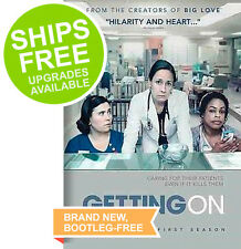 Getting On Season One (DVD, 2014) NEW, Sealed, First Season, Laurie Metcalf