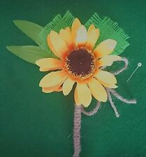 Sunflower Wedding Single Flowers Personalised