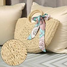 Women Girls Rattan Straw Bag Woven Handbag Crossbody Shoulder Beach Summer Bags