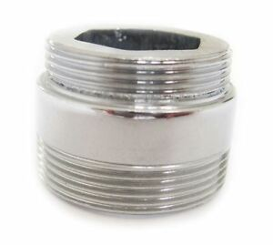 Solid Metal Adaptor For Water Saving Kitchen Faucet Tap Aerator 22mm to 24mm