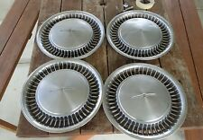 1981/82 ford thunderbird 14 inch hubcaps