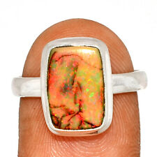 Sterling Opal 925 Sterling Silver Ring Jewelry s.8 BR60770
