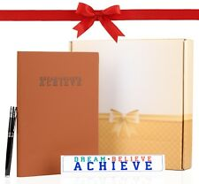Christmass Gift Set  - 200 Pages Notebook Journal Planner / Pen / Desk Momento