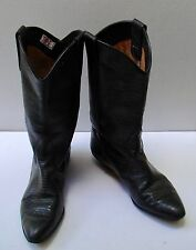 Terra black boots Size 10 Leather