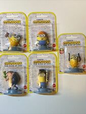 Mattel Minions The Rise Of Gru Collectible Toy Mini Figures Complete Set Of 5