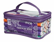 Twist Flex Flexi Rods Foam Hair Curlers Styling Tools 42-pack Diane By Fromm New