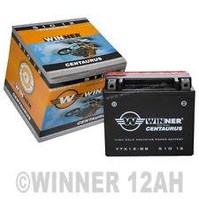 AGM Motorrad Batterie 12Ah YTX12-BS 140A/EN 12V GTX12-BS FTX12-BS YTX12BS 51012