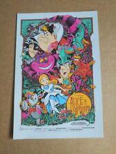 Ken Taylor Alice In Wonderland Disney Art Print Mondo Movie Postcard
