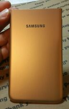 Samsung Galaxy J7 J727T battery door Rear Cover oem Champagne Gold