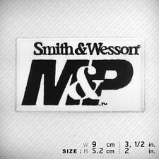 Smith & Wesson M&P PATCH IRON ON Clothes T Shirt Cap Vest Jacket . Professional