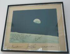 Apollo 11 Aufgabe Earthrise über Mond 8x10 Silber Halogen Fotodruck