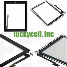 Touch Screen Digitizer Replacement Apple iPad 4 Black With Home Button Flex
