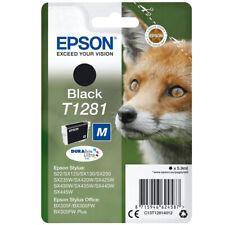Epson T1281 schwarz Tintenpatrone Singlepack Black DURABrite Ultra Ink