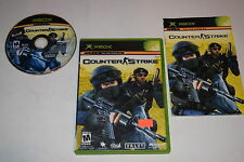 Counter-Strike Microsoft Xbox Video Game Complete