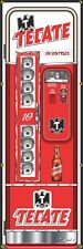 TECATE BEER VENDING MACHINE RETRO HOME BAR ART BANNER SIGN MURAL SIGN 2' x 6'