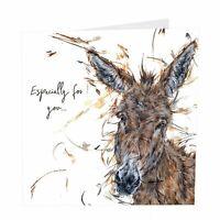 Birthday Card - All Ears - Donkey - Aaminah Snowdon Quality NEW