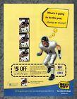Best Buy NFL 2K3 Coupon Vintage 2002 Playstation 2 PS2 Print Ad Art