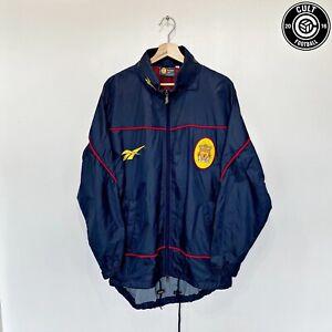 1997/98 LIVERPOOL Vintage Reebok Football Rain Coat Jacket (S/M) Fowler Owen Era