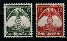 MNR 586 + 587 586/7 postfrisch Reichsparteitag